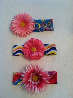 stretchy colorful headbands