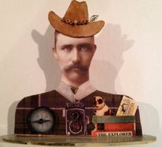 the explorer. man on a misson... by DianaDDarden on Etsy, $50.00