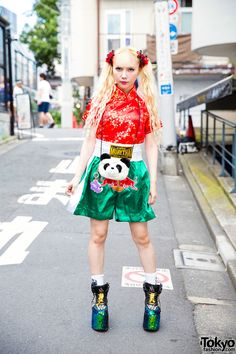 AMAZING. fusion of Asian inspired themes. i especially like the Muay Thai Shorts…