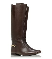 JESS BOOT - Tory Burch - my new fall boot! such a rich dark brown! and not too logo-ish! love