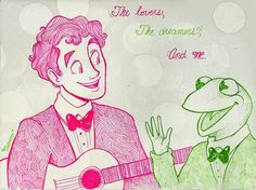 Darren Criss and Kermit's duet before the Oscars was magical.