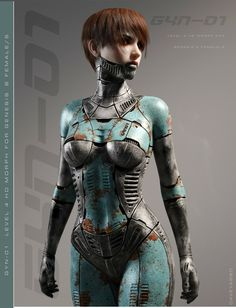 A genre of science fiction and a lawless subculture in an oppressive society dominated by computer technology and big corporations. Cyborg Girl, Female Cyborg, Female Art, Cyberpunk Kunst, Cyberpunk Girl, Chica Fantasy, Fantasy Art, Character Concept, Character Art