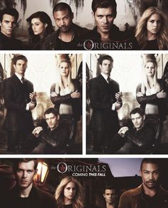 The Originals... Spin-off of the Vampire Diaries. Is anyone else really not ok with this? I want klaus on the v diaries with Caroline!