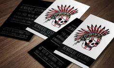 Kakia tattoo studio free psd business card by mct2art psd mockup tattoo card google search fbccfo Gallery