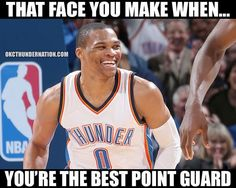 RT @_ThunderNation: Russell Westbrook was voted #1 Point Gua - http://nbafunnymeme.com/nba-memes/rt-_thundernation-russell-westbrook-was-voted-1-point-gua
