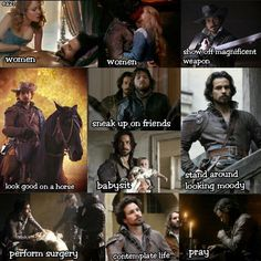 Aramis- The Musketeers BBC