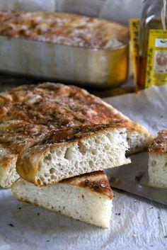 Mat på Bordet: 3 varianter av no knead focaccia