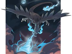 Mega Charizard X - Power of a dragon! by nganlamsong.deviantart.com on @deviantART