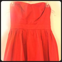 forever 21 red dress!!❤️♥️♦️ Forever 21, worn once, red dress, really comfy, size medium, beautiful dress, NO TRADES Forever 21 Dresses