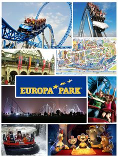 Europa Park - Rust - Germany ... Europa-Park is the largest theme park in Germany and a second most popular theme park resort in Europe.