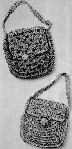 Crochet Cross, Thread Crochet, Old Keys, Finger Weights, Little Bag, Straw Bag, Crocheting, Free Pattern, Closure