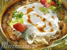 Harcsa székelyesen recept Fish Recipes, Hummus, Camembert Cheese, Mashed Potatoes, Tacos, Mexican, Dishes, Ethnic Recipes, Food