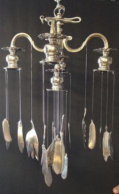 Chandelier wind chime.