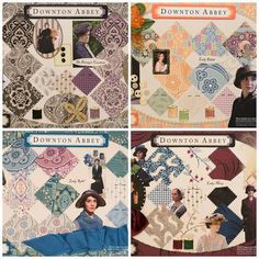 Ok I need these Downton Abbey quilts! check out Huntsville Sew and Vac. com
