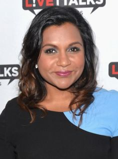 Mindy Kaling shared how she gets her oily skin under control.
