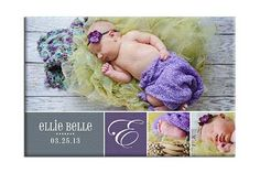 www.heritagemakers.com/4everphotos 36 x 24 wrapped canvas #baby #digiscrap Heritage Makers template 106444