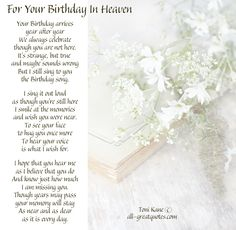 101 Best Heavenly Birthday Wishes Images On Pinterest In 2018