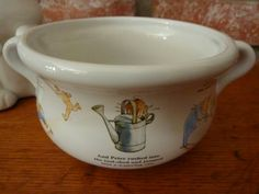 Vintage Beatrix Potter Handled Childrens Bowl by DKCollectibles, $14.00