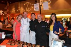 The Blue Moon Fish Co team at #nokidhungry