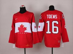 NHL Winter Olympics Canada Hockey Jerseys 21