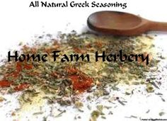 Greek Seasoning, Order now, FREE shipping    Greek Seasoning is also known as Greek Spice Originating in Greece, the Greeks are known for many things and we have Greek Cuisine to thank for such cooking staples such as Olive Oil and olives.   At Home Farm Herbery we carefully duplicate this wonderful seasoning by hand blending our organic and chemical-free herbs Garlic Powder, Black Pepper, Salt, Oregano, Lemon Oil and Marjoram to create this delicious Traditional Greek flavor with its…