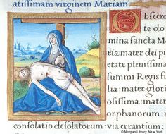 Book of Hours, MS M.85 fol. 116v - Images from Medieval and Renaissance Manuscripts - The Morgan Library & Museum