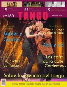 Tango y Cultura Popular N° 160 Tango, Popular, Movies, Movie Posters, Change Of Life, Report Cards, Culture, Activities, Films