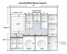Laundry Room Design Layout This Is Our Mud Plan Cabinet Planner