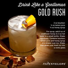Drink like a gentleman! What to treat dad with this Father's Day: Gold Rush cocktail recipe
