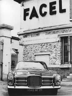 Facel Vega Facel II in front of the Facel-Metallon factory - Industry	Automotive Founded	Facel SA 1939 (Facel-Vega : 1954) Defunct	1964 Headquarters	Paris, France.