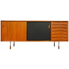 Sideboard Triennale OS 29 by Arne Vodder Sibast Teak   From a unique collection of antique and modern sideboards at http://www.1stdibs.com/furniture/storage-case-pieces/sideboards/