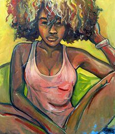 Jasmine , 2015, Oil on Canvas Candace Fong www.cfongart.com etsy.com/shop/cfongart: : submission: :