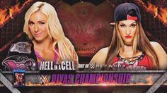 Charlotte retain the Divas Champion tonight at Hell in a cell