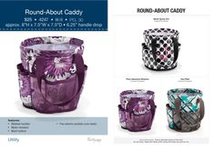 Great to keep orgainzed in your bathroom or even great to us for on the go in your car! www.mythirtyone.com/lovetotes