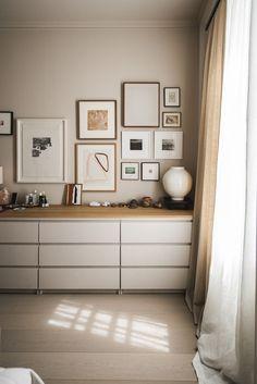 My Modern House: Cereal magazine founder Rosa Park Room Ideas Bedroom, Home Bedroom, Bedroom Decor, Rosa Parks, Ikea Malm Dresser, Ikea Malm Bed, Ikea Malm Hacks, Ikea Dresser Makeover, Cereal Magazine