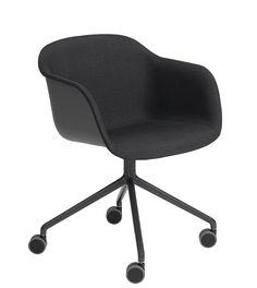 Muuto Fiber - Swivel Base on Castors | mintroom.de #Muuto #mintroom #shop #stühle #office #plastic #holz #metall #schreibtischstühle #chairs #alle