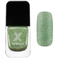 Formula X Celestials –Nail Polish Effect Star Power (green and gold glitter shift) $12.50