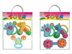 plastic cartoon rattle toy small baby rattle  With EN71 and ASTM standard  hot sale plastic baby toys  new design baby toy