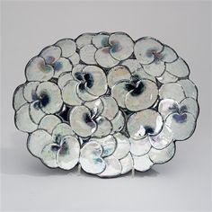 View A CERAMIC DISH by Birger Kaipiainen on artnet. Browse upcoming and past auction lots by Birger Kaipiainen. Ceramic Decor, Ceramic Plates, Porcelain Ceramics, Ceramic Painting, Ceramic Artists, Fabrice Hyber, Sweet Violets, Clay Design, Ceramic Design
