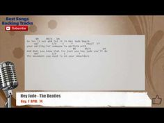Hey Jude - The Beatles Vocal Backing Track with chords and lyrics