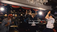 """LOW IQ 01 & MIGHTY BEAT MAKERS / Snowman inc.AL""""THE BOP"""" - 2016.07.06 on..."""