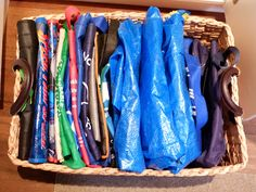 A Smarter Way to Organize All Your Reusable Grocery Bags ...