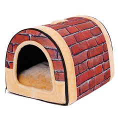 PAWZ Road 2-in-1 Pet house and Sofa Non-Slip Dog Cat Igloo Beds 3-Size * To view further, visit now : Crates, Houses and Pens for dogs