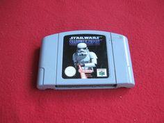 STAR WARS SHADOWS OF THE EMPIRE till Nintendo 64 N64 på Tradera.com -