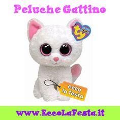 Peluches gatti a prezzi imbattibili! http://www.eccolafesta.it/idee-articoli-per-feste/peluches.html