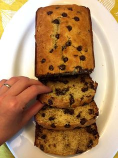 What's better than banana bread? Chocolate chip banana bread! Awesome texture, sweet banana flavor and chocolate chips throughout - you need a slice of this yumminess ASAP! Got some overripe bananas laying around? Here's a perfect use for them - make this chocolate chip banana bread! Itis so good that you'll want to hide some bananas and have them turn brown just to have an excuse to make it this banana bread over and over again! This chocolate chip banana bread is awesome for ...