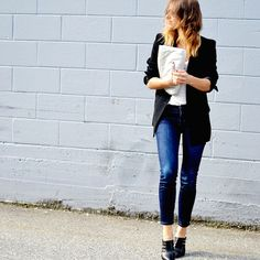 50 Stylish Outfit Ideas You Can Easily Copy via @WhoWhatWear