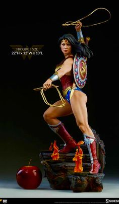 By Athena's Shield! The Wonder Woman Premium Format™ Figure Approaches By Athena's Shield! The Wonder Woman Premium Format™ Figure Approaches Wonder Woman Art, Wonder Woman Comic, Custom Action Figures, Sideshow Collectibles, Figure Model, Dc Heroes, Marvel Dc Comics, Comic Books Art, Comic Art
