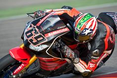 Nicky Hayden Test Aragon 2015