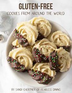 Gluten Free Deserts, Gluten Free Cookie Recipes, Gluten Free Sweets, Foods With Gluten, Gluten Free Cooking, Vegan Gluten Free, Eating Gluten Free, Gluten Free Shortbread Cookies, Keto Cookies